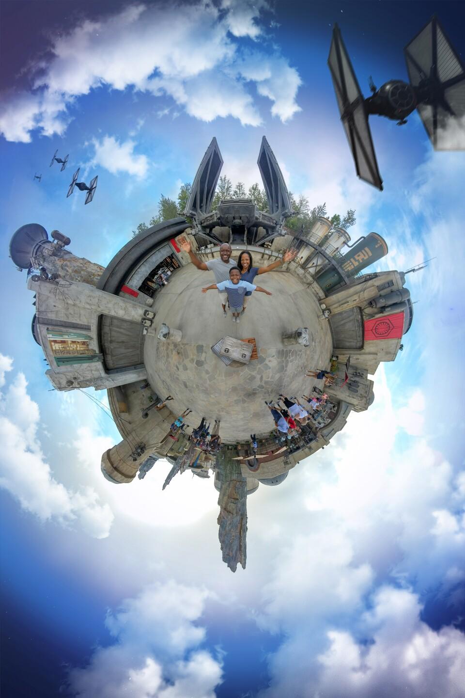 Disney PhotoPass Tiny World Magic Shot
