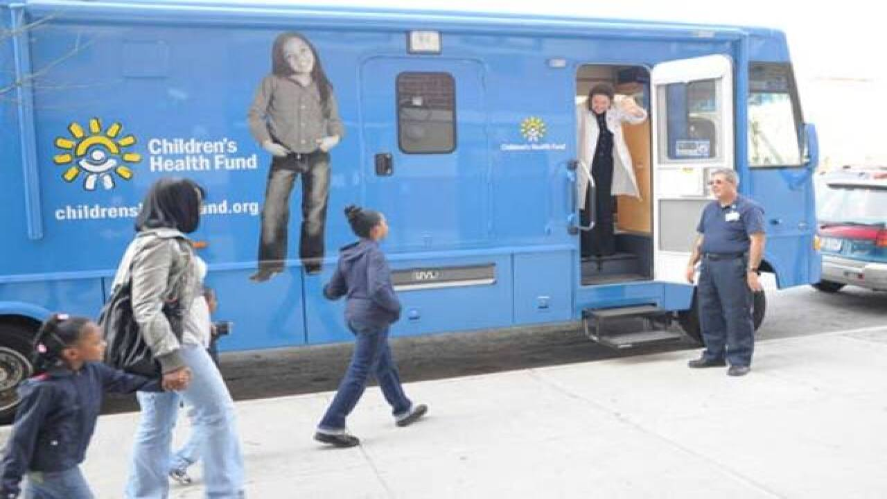 Mobile clinics coming to Flint to help kids