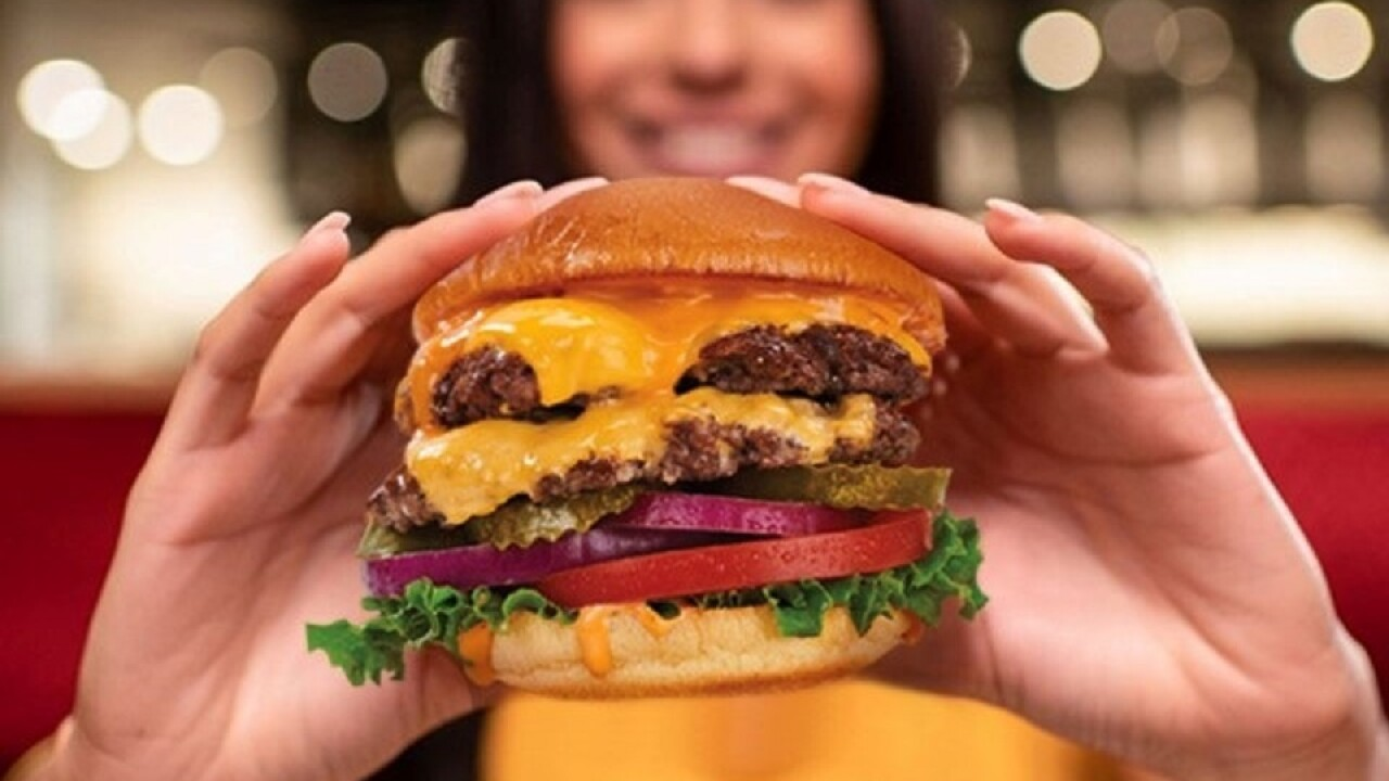Hard rock cafe Country Burger