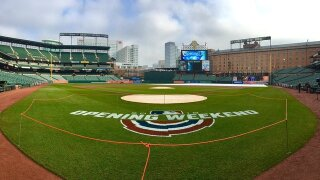 "Orioles holding ""Halfway to Christmas"" Celebration"