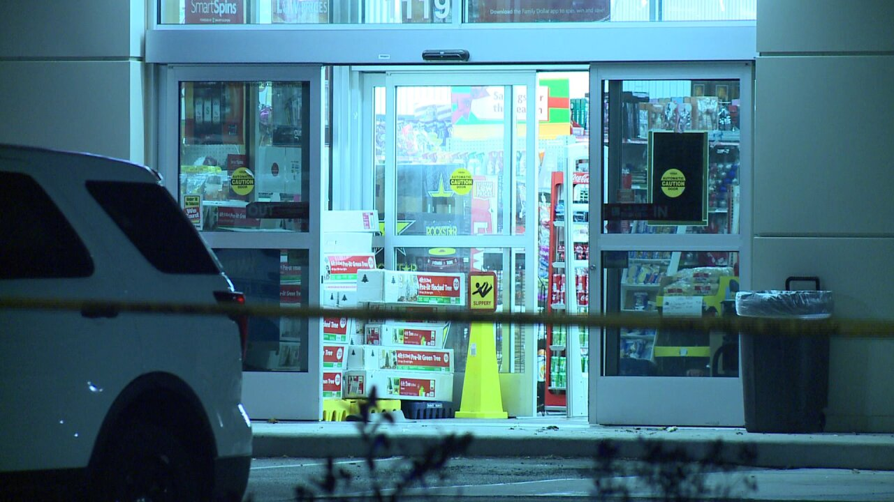 Shot fired during armed robbery of Newport News Family Dollar