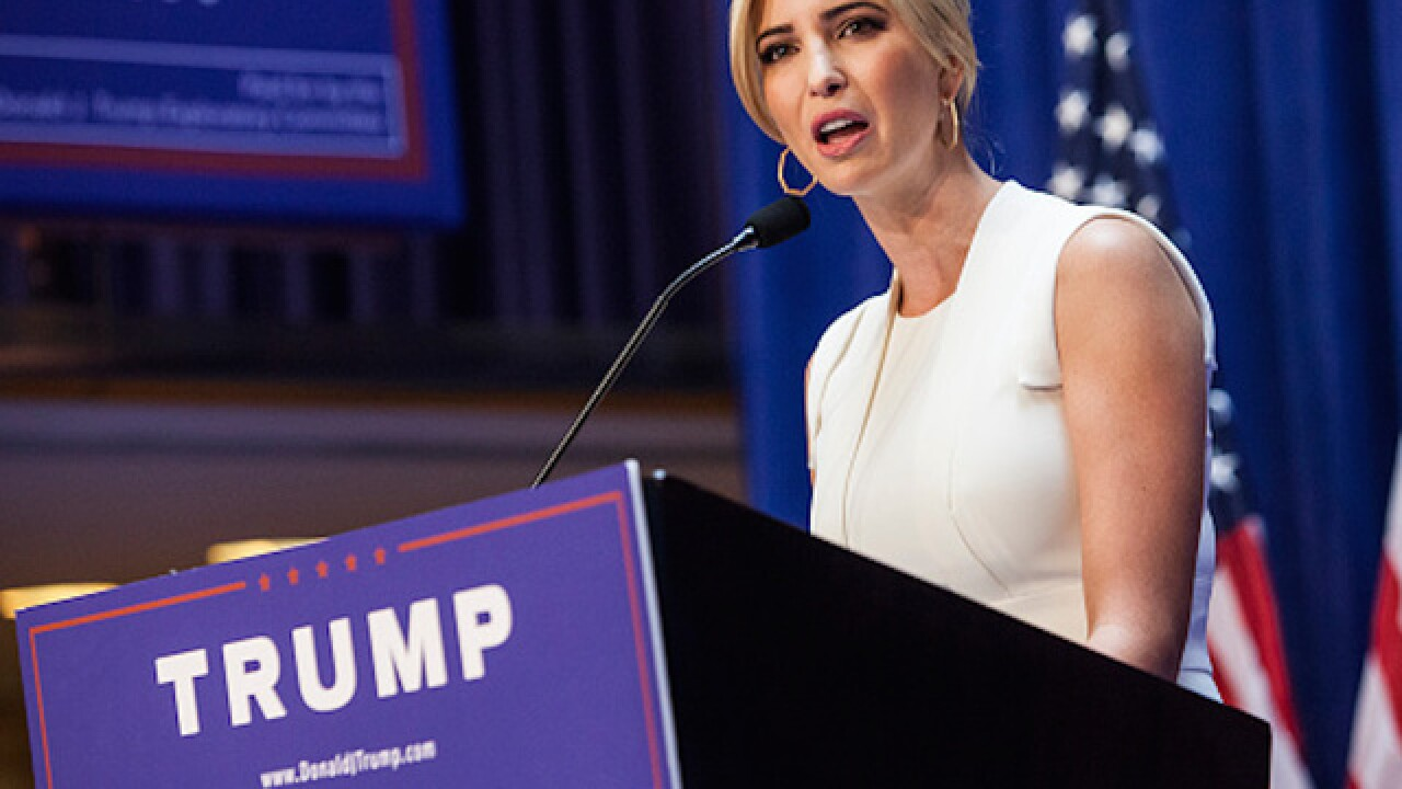 Ivanka Trump's jewelry purchase contributed to Clinton's campaign