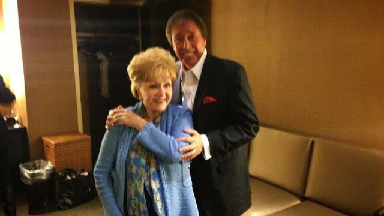 Debbie Reynolds leaves her mark on Las Vegas
