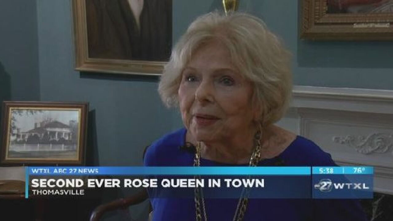 Second ever Rose Queen comes back to Thomasville