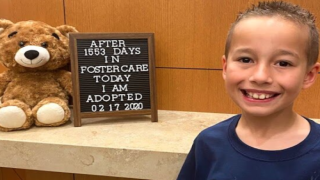 Hundreds Of People Came To The Courtroom To See This Boy Get Adopted After 1,553 Days In Foster Care
