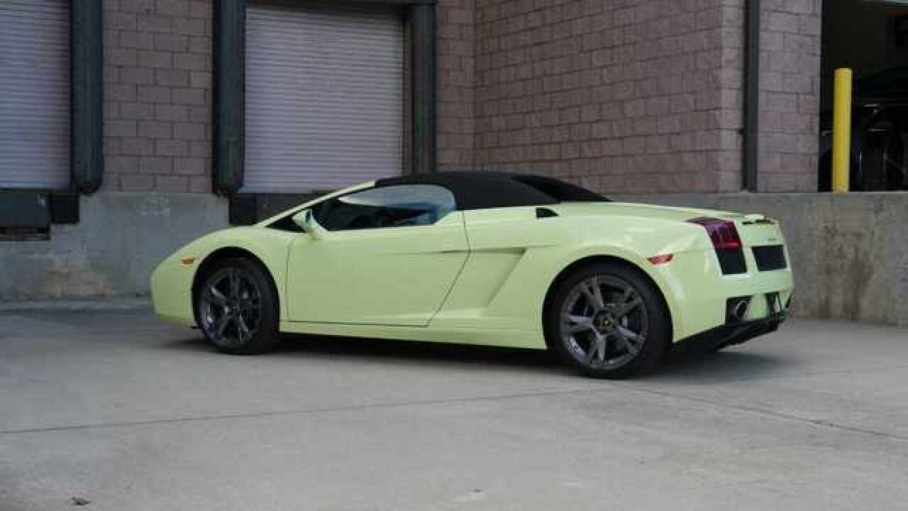 Lamborghini goes missing in Nashville, believed to be stolen