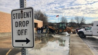 Lakota schools water main break