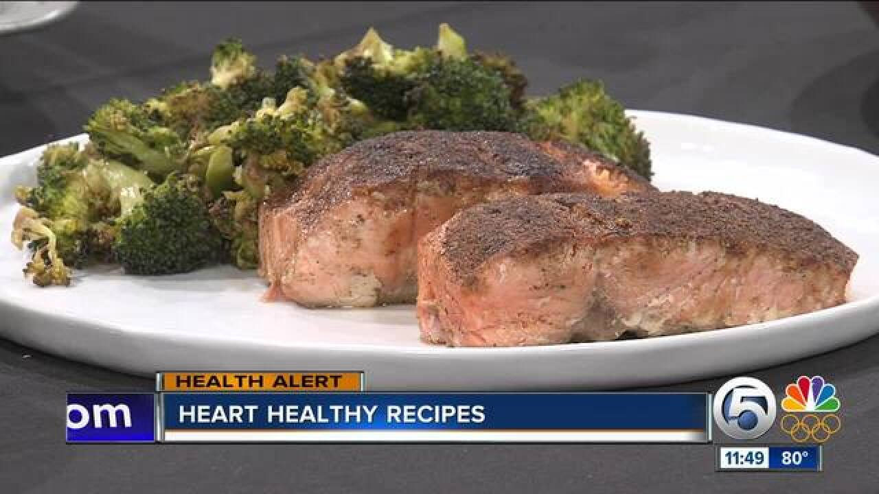 The Foodie Physician's heart-healthy recipes
