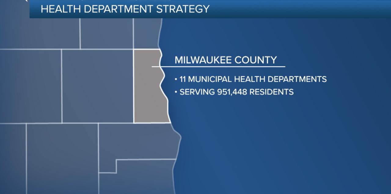 Milwaukee County Map