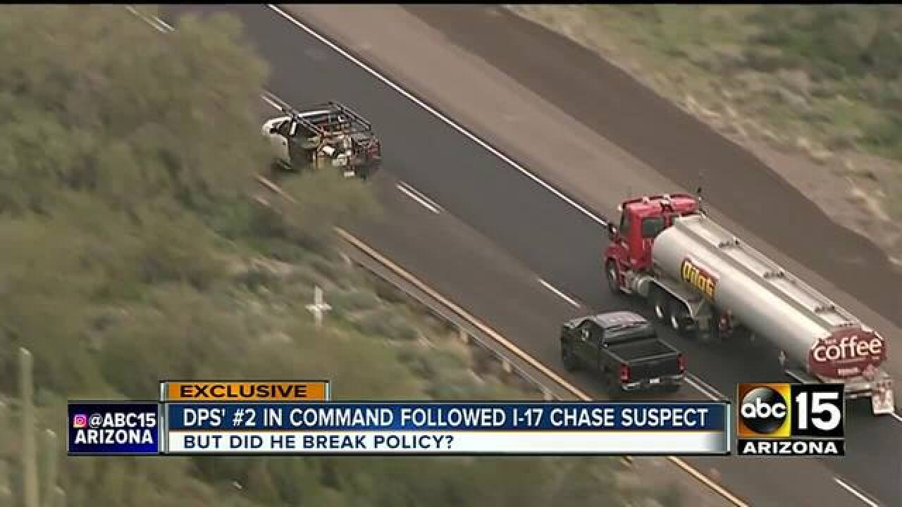 Off-duty trooper involved in deadly I-17 pursuit
