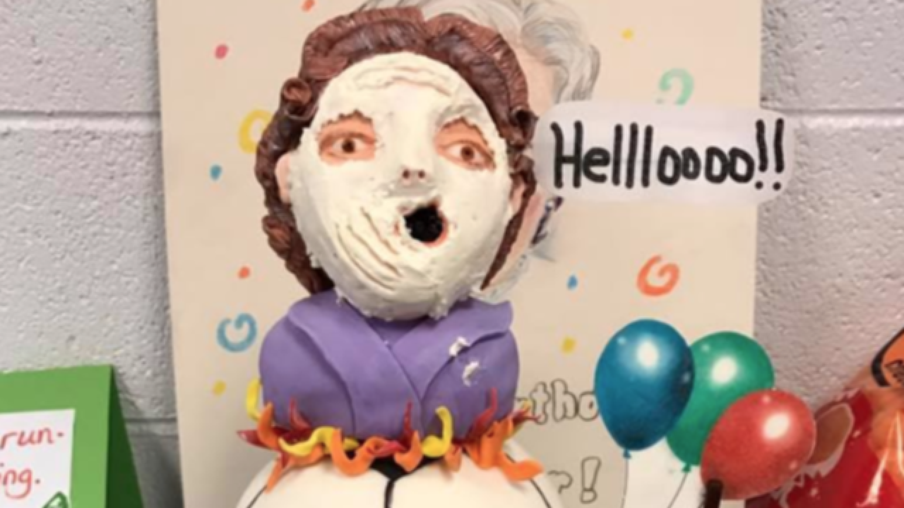 3 y.o. asks for Mrs. Doubtfire-themed birthday