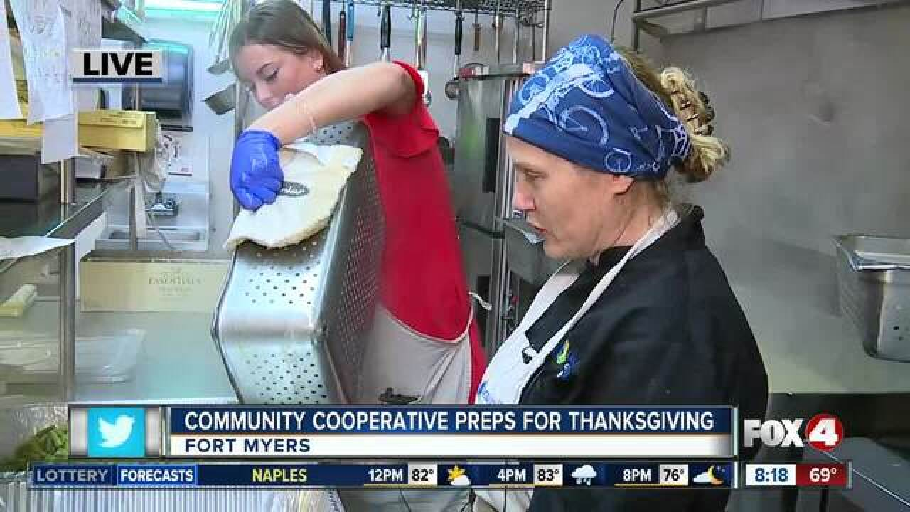 Soup kitchen prepares meals for Thanksgiving