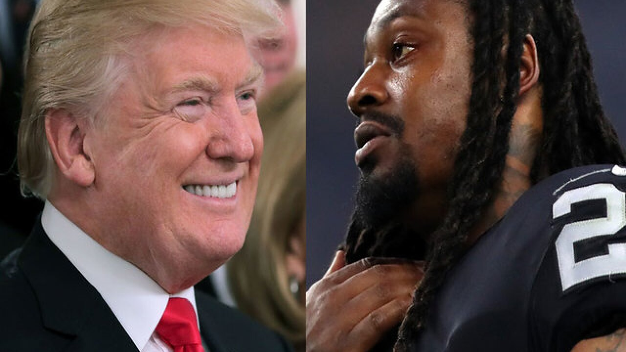 DC Daily: Trump calls on NFL to suspend Raiders' Marshawn Lynch for sitting during anthem