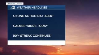 July 9 2020 5;15 a.m. forecast