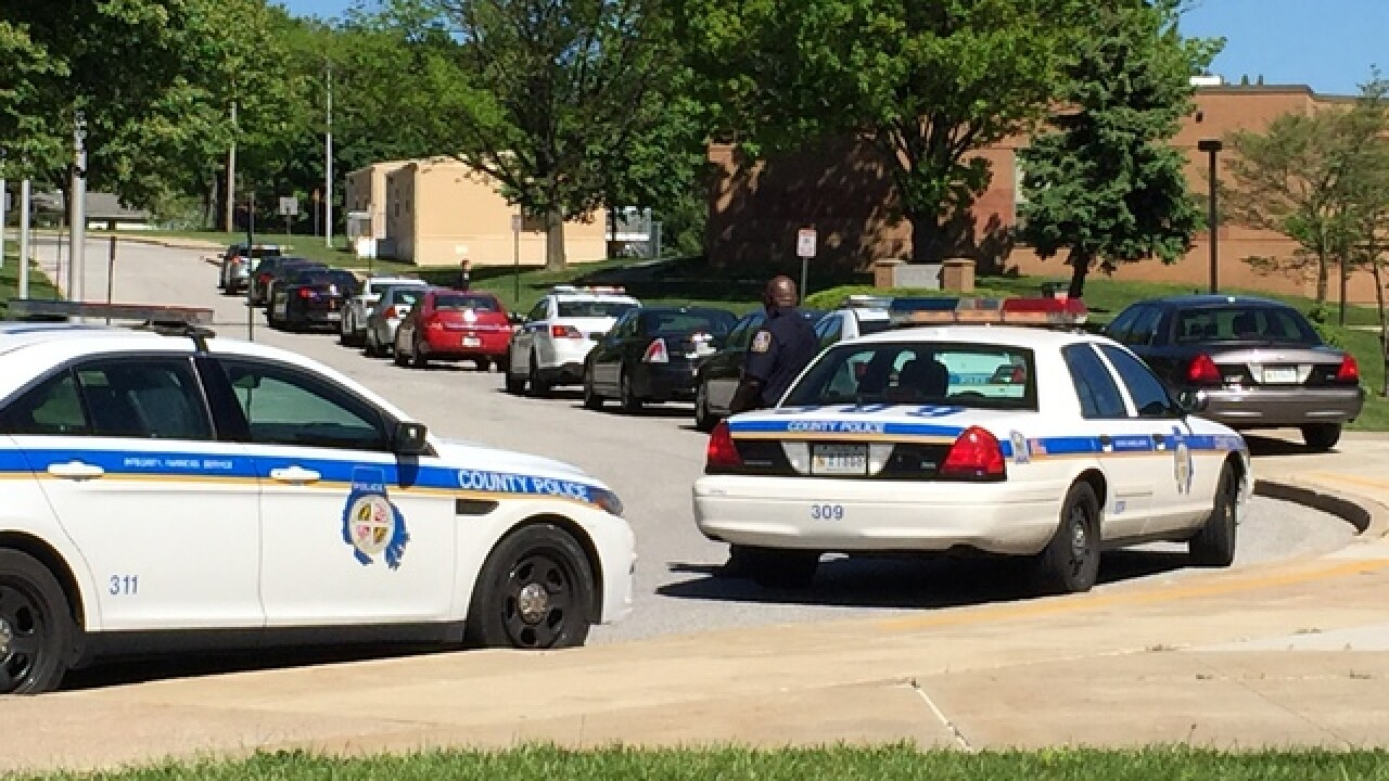 Student injured at Owings Mills High School