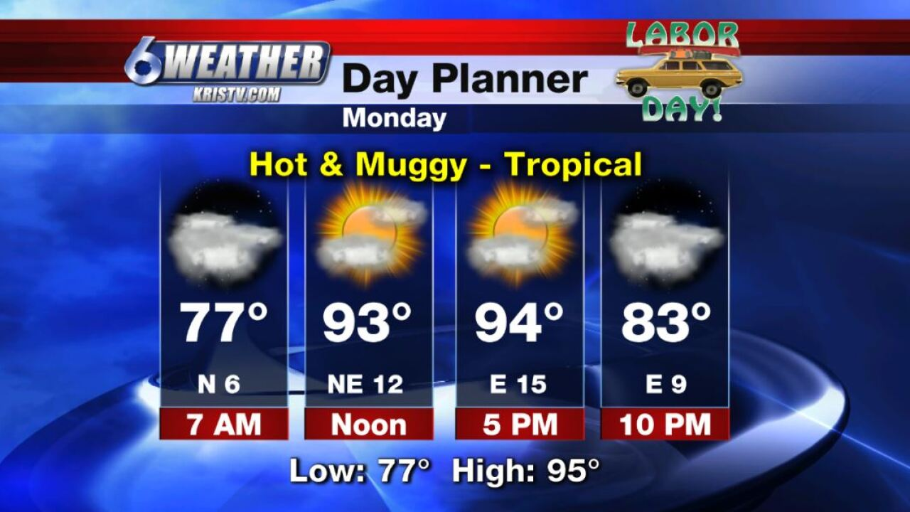 6WEATHER Day Planner for Monday - Labor Day - 9-2-19.JPG