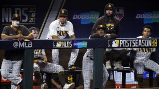 NLDS Dodgers Padres Baseball