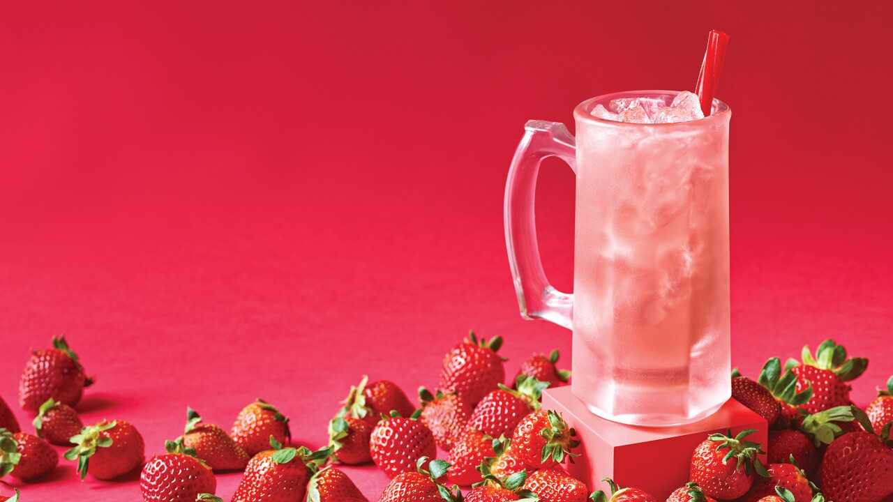 Applebee's Strawberry Dollarita