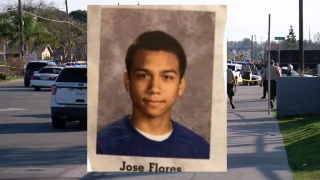 Jose Flores, Foothill Stabbing Victim