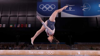 WATCH: Suni Lee's family the moment she clinched the all-around gold