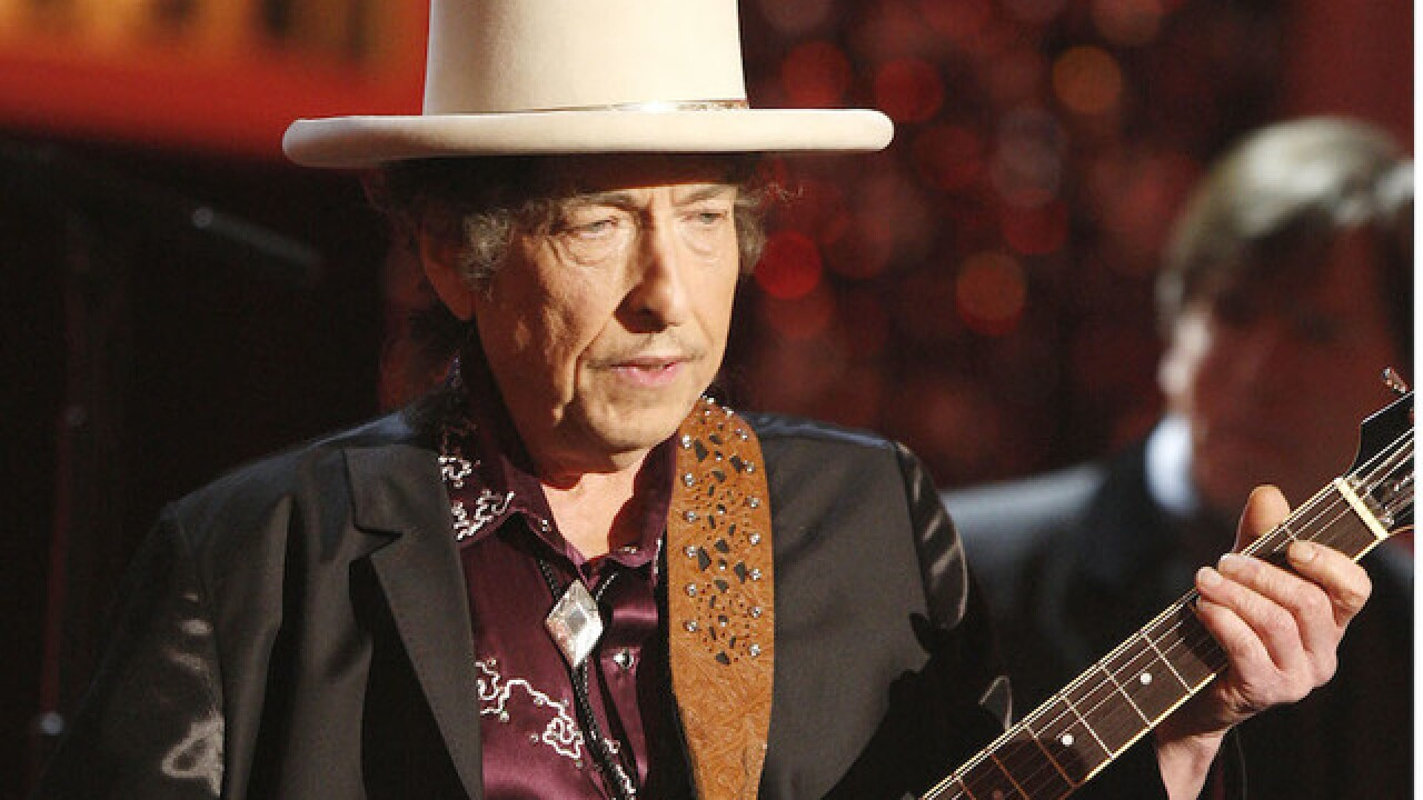 Bob Dylan wins Nobel Prize in literature