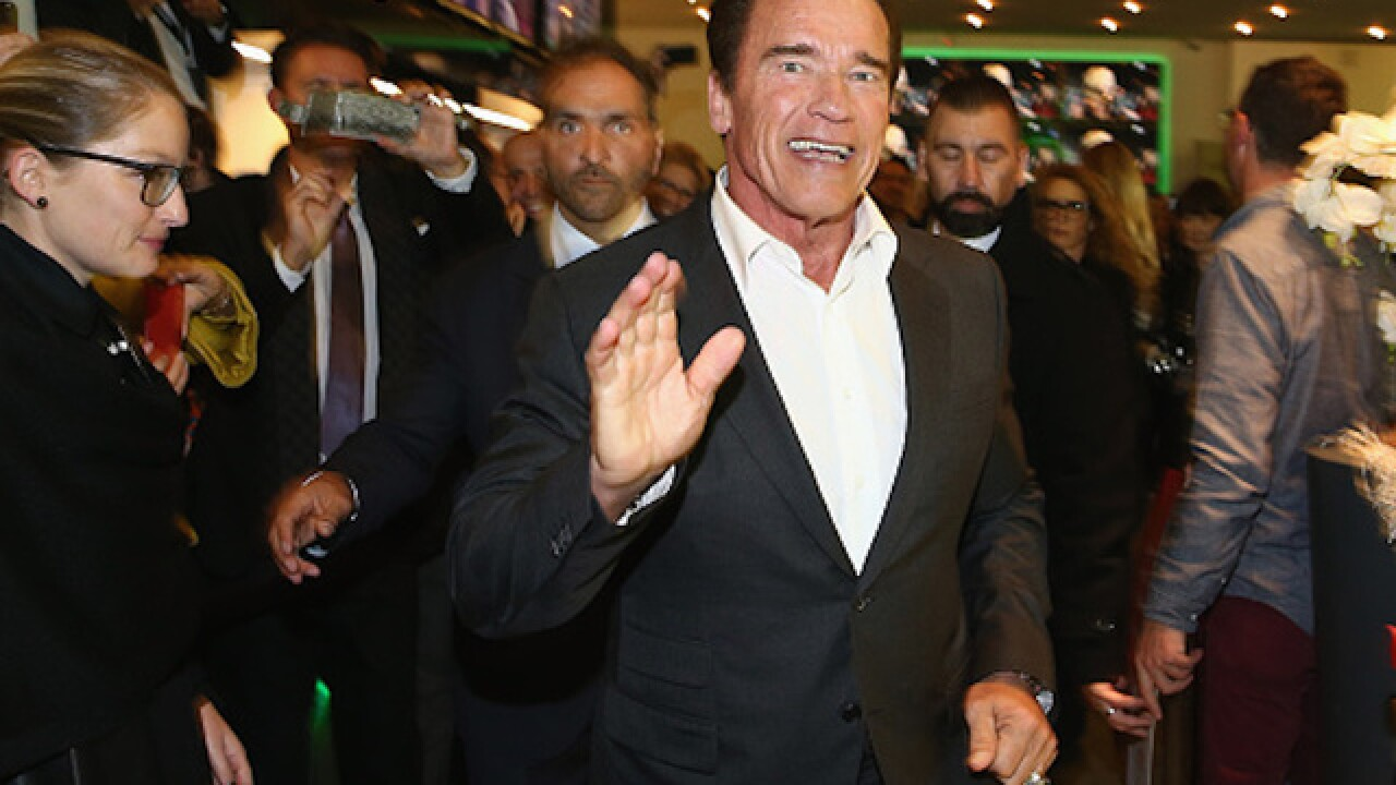 Arnold Schwarzenegger joining forces with Kasich
