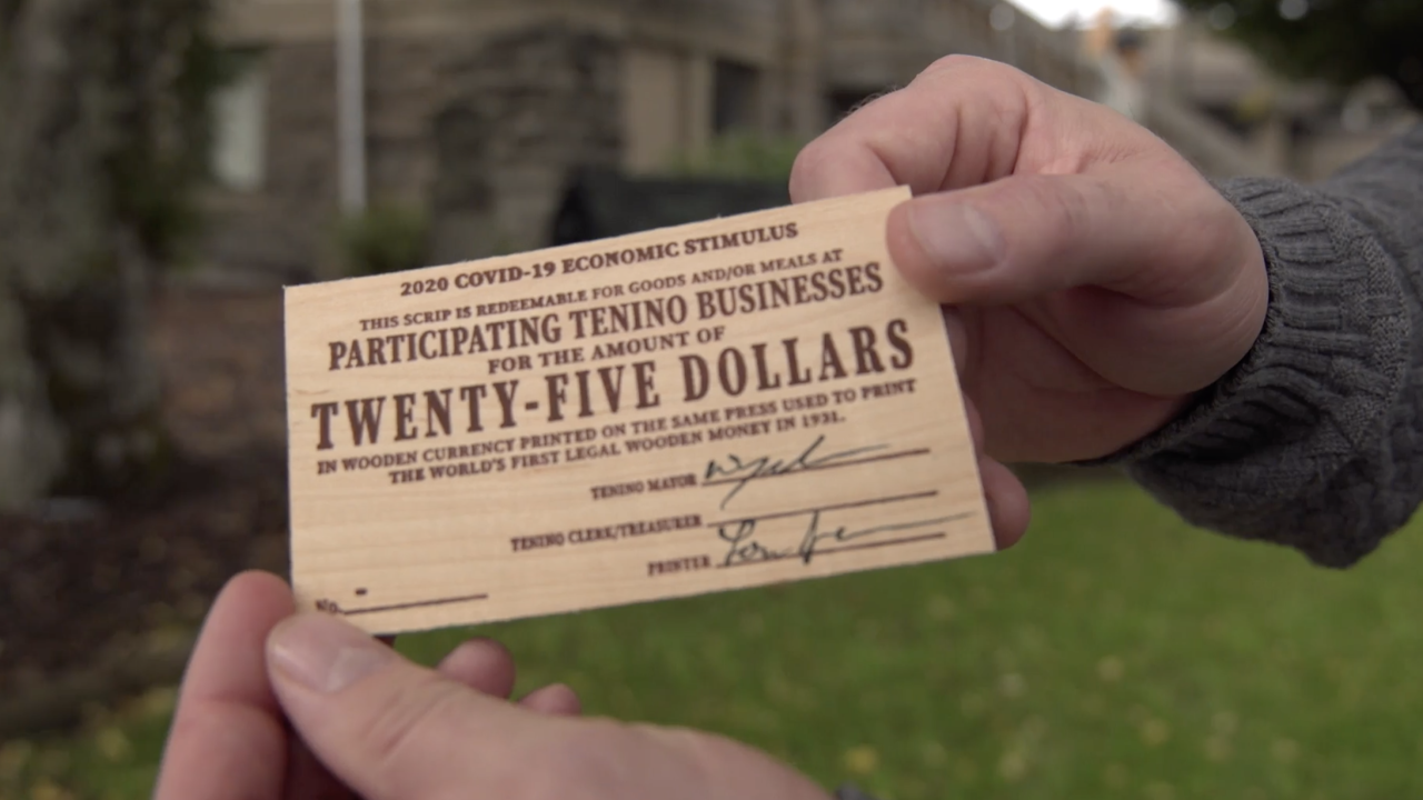 Town prints its own money to help residents, businesses during pandemic