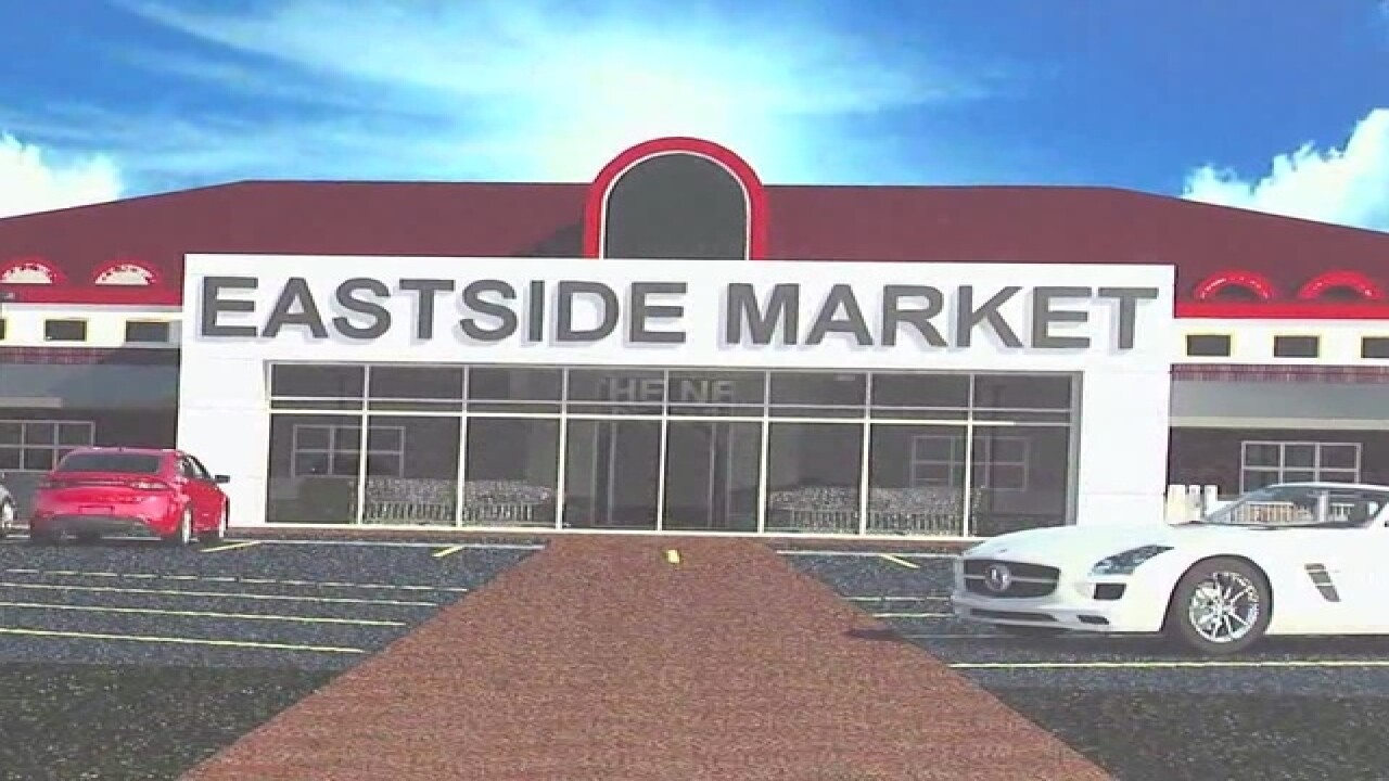 Groundbreaking for new East Side Market