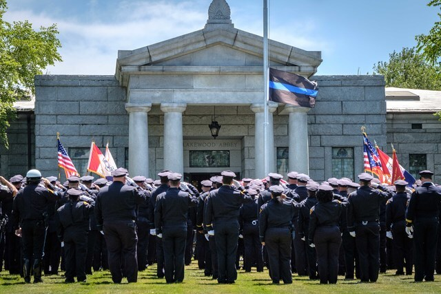 PHOTOS: Cleveland Police Officer Vu Nguyen laid to rest