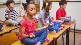 Teachers can get a free subscription to the Calm app—it usually costs $60