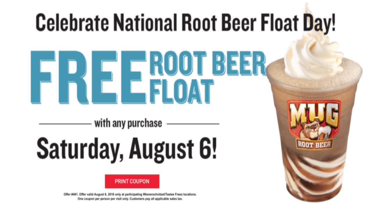 Free Root Beer Float With Any Purchase At Wienerschnitzel Today