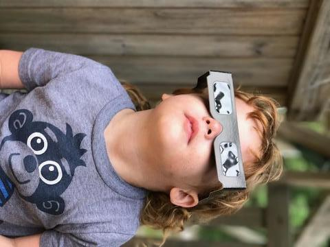 Eclipse 2017: Special glasses make statement, keep eyes safe