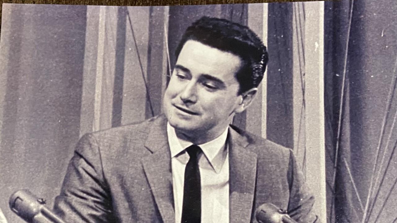 Regis Philbin at KOGO TV
