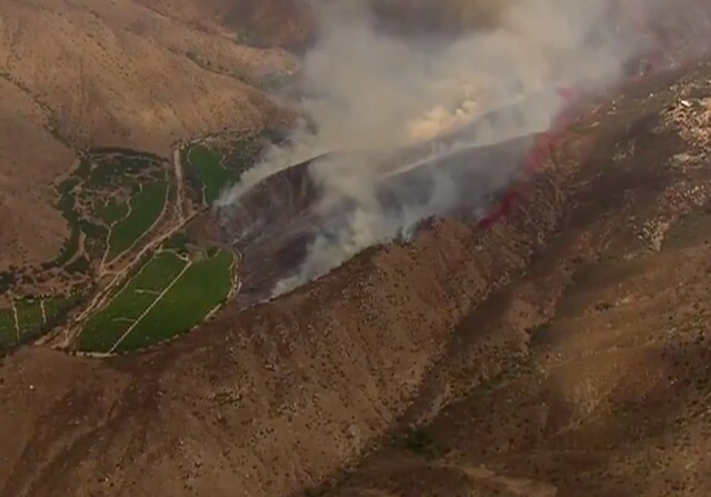 PHOTOS: Rangeland Fire in Pasqual Valley