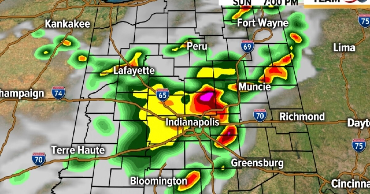 LIVE BLOG: Parts of Indiana under severe thunderstorm watch