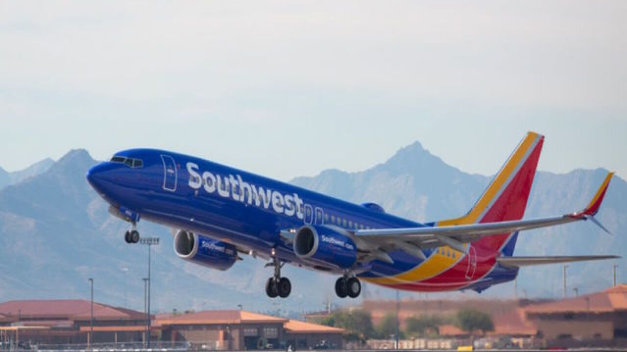 Man accused of sexual assault on Southwest flight