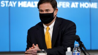 Virus Outbreak Arizona Governor