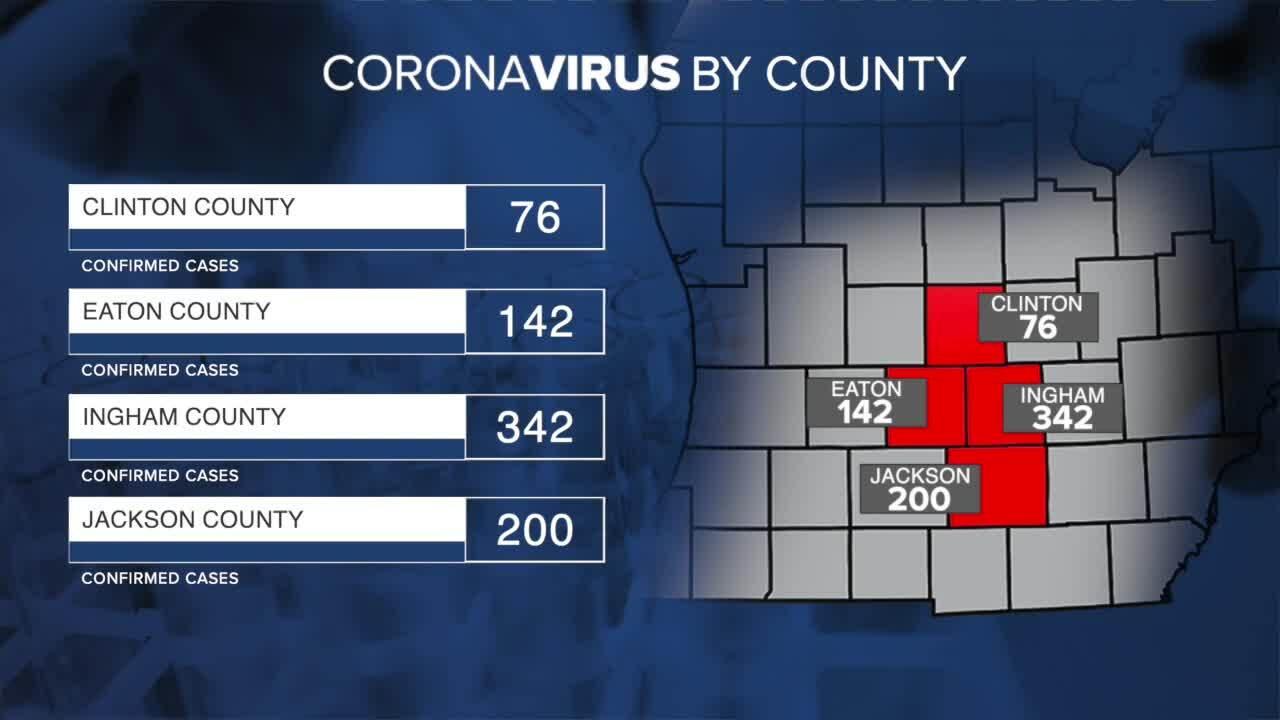 Coronavirus By County - April 20, 2021