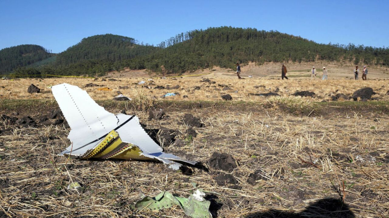 Black box recovered from scene of Ethiopians Airlines plane crash, airline confirms