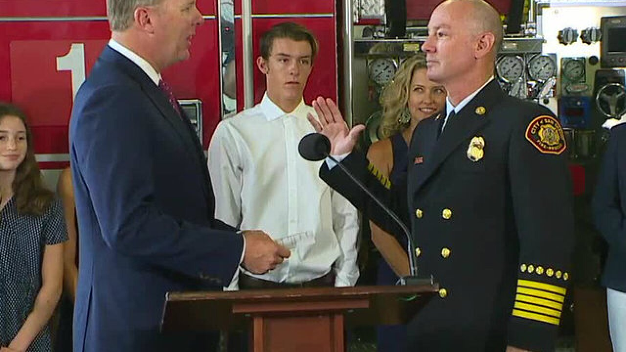 New San Diego Fire Chief sworn in