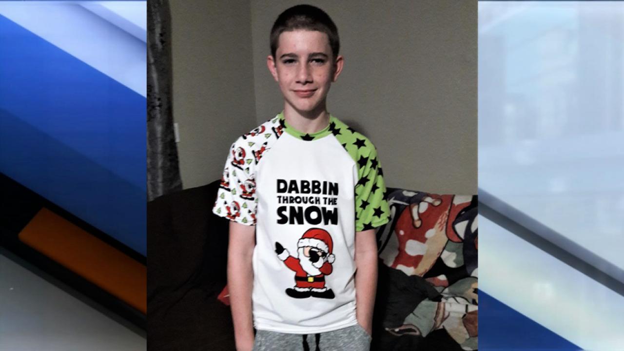 Khyler Edman, 15, killed in home invasion burglary.