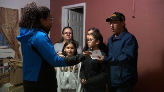 Denver7 Gives funds Greeley family's rent for nearly a year