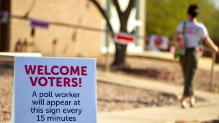 Polls workers