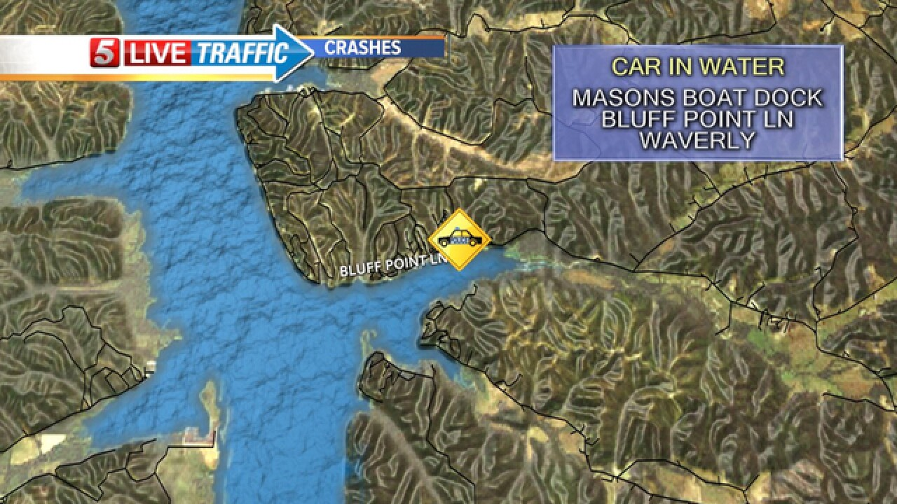 Vehicle Found Submerged In Tennessee River