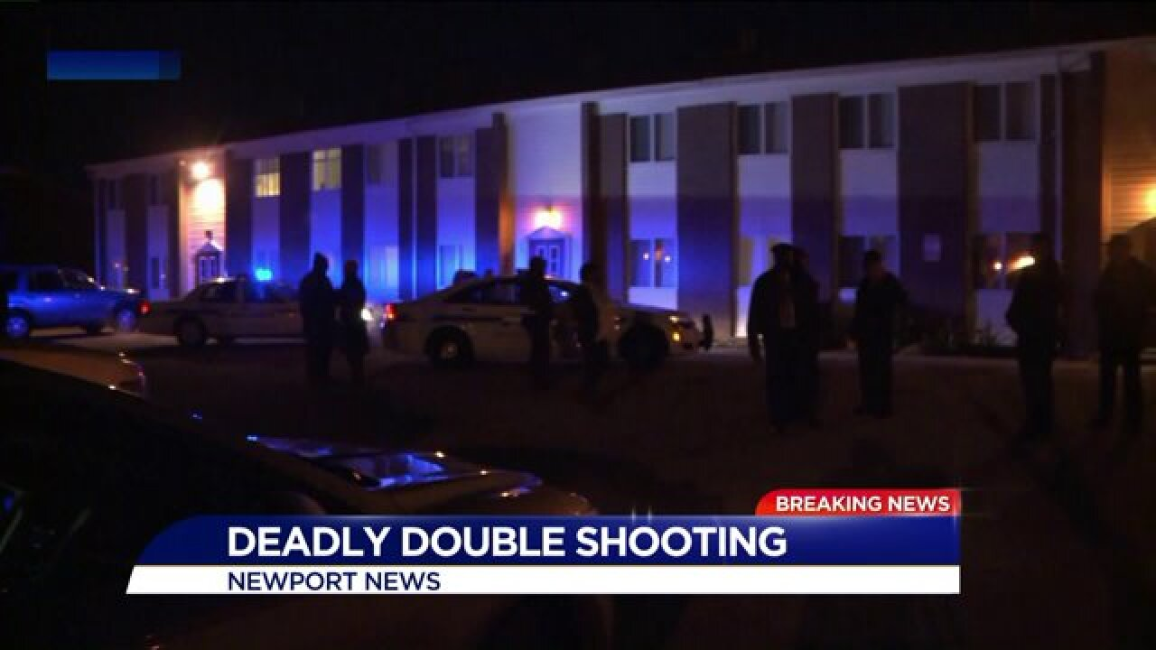 Two men killed in double shooting at Newport News apartment complexidentified