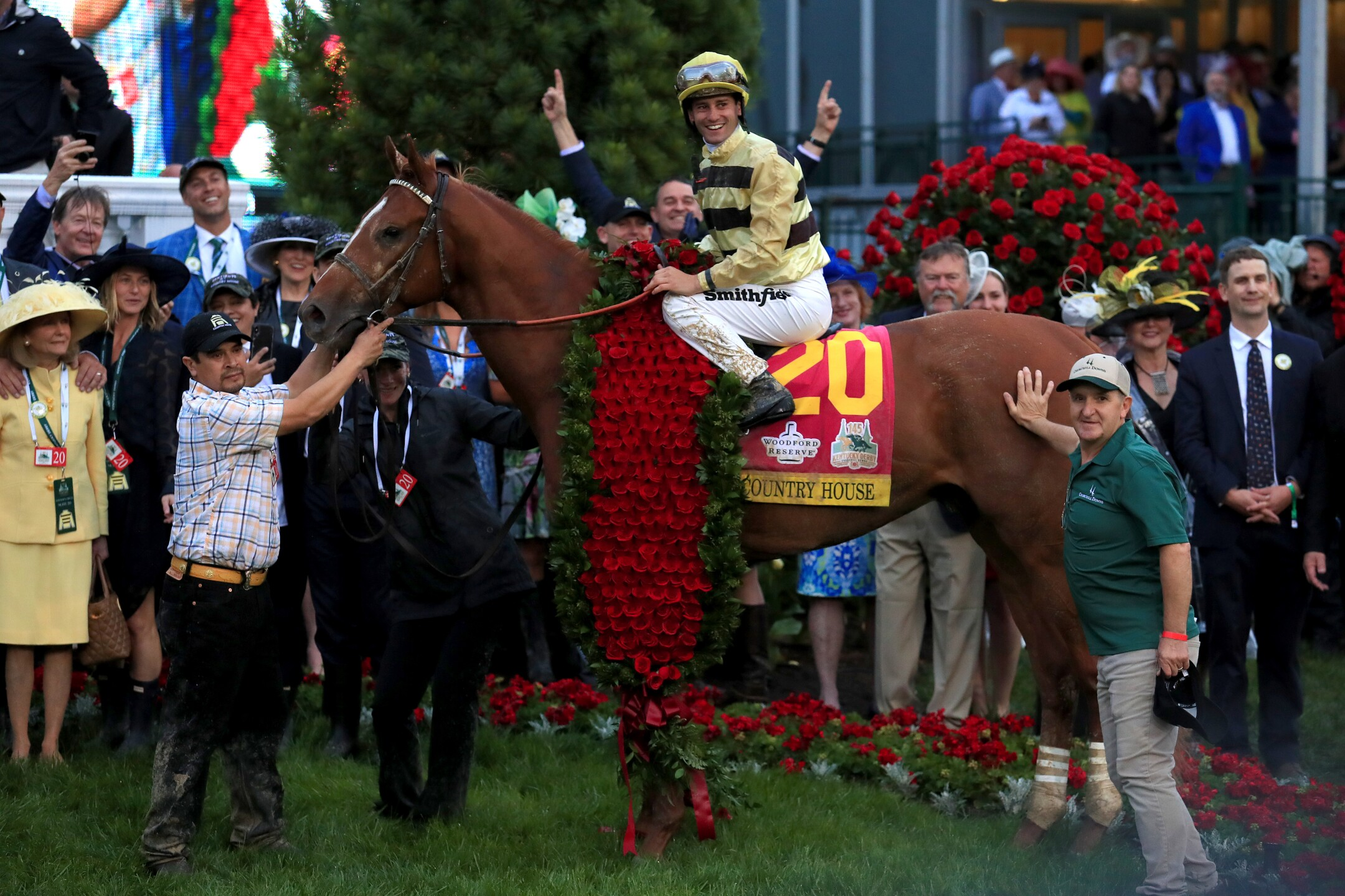 Photos: Country House wins Kentucky Derby after Maximum Security gets disqualified