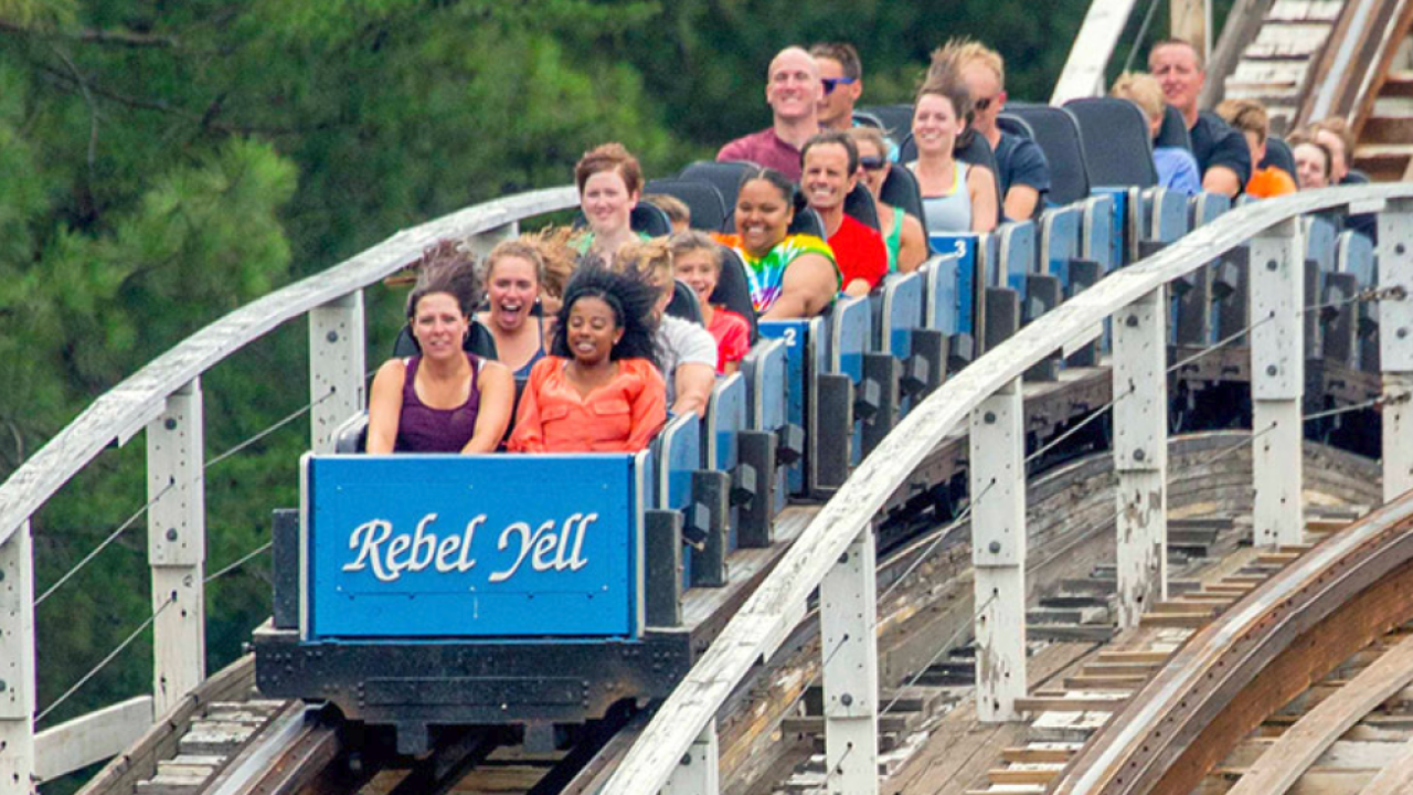 Kings Dominion changes name of historic 'Rebel Yell' to 'Racer75'