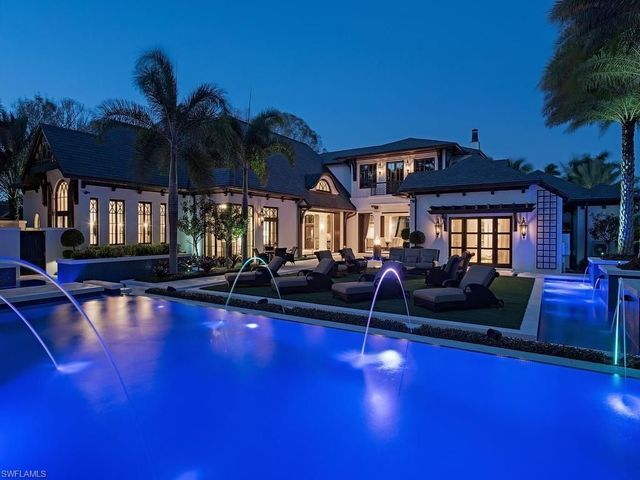 Pricey Home: 7,810 sqft. Magnificent Naples home, listed for $10,900,000