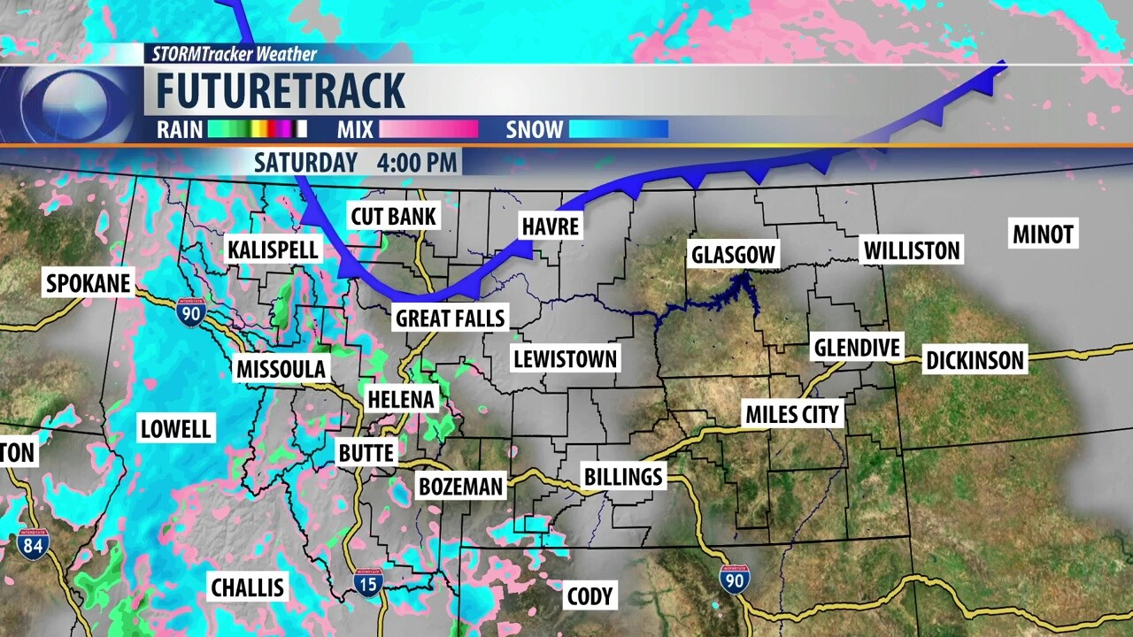 Wintry mix Saturday