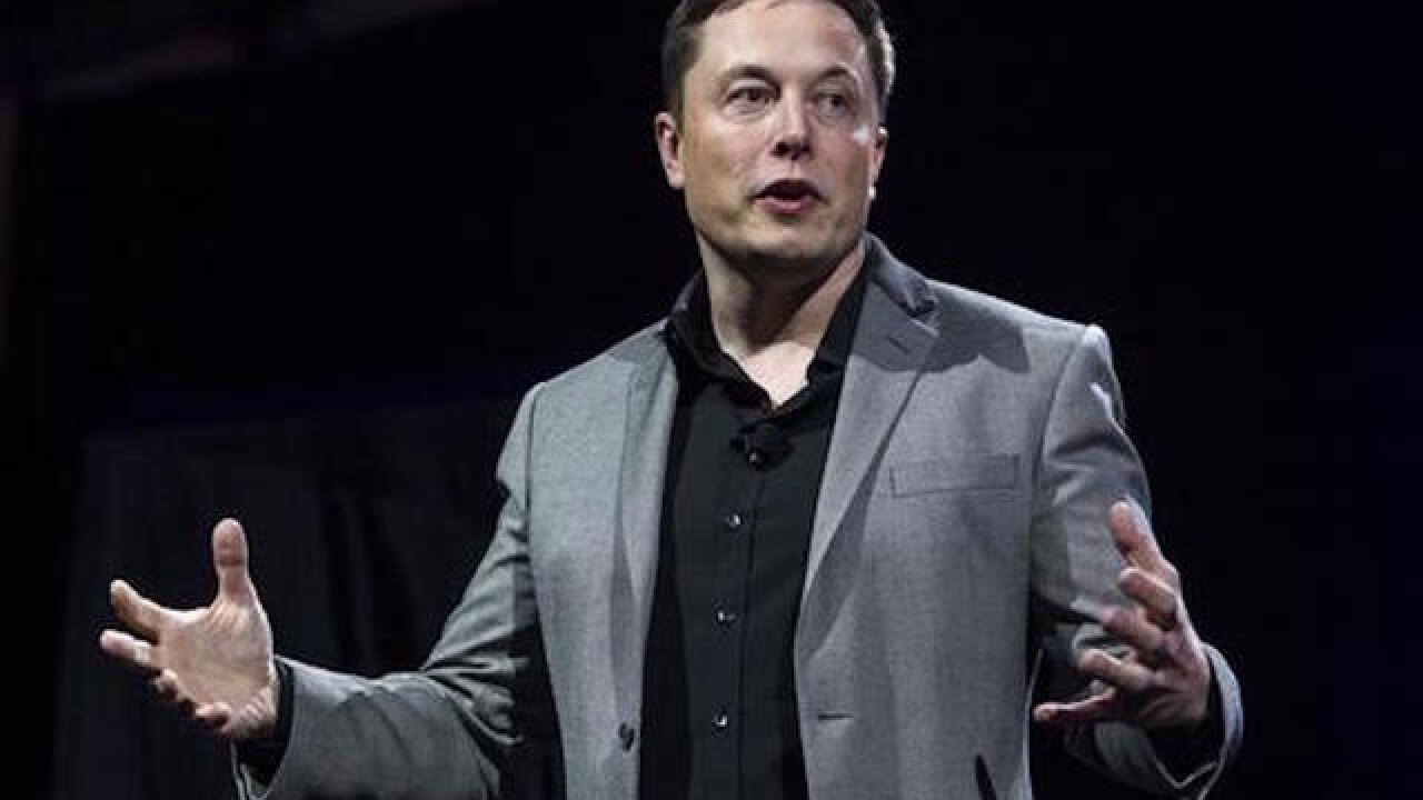Elon Musk says Tesla will repair car used to save another man's life